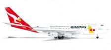 Herpa 523912 Boeing 747-400 Qantas Boxing Kangar