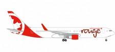 Herpa 524230-001 Boeing 767-300 Air Canada Rouge