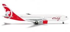 Herpa 524230 Boeing 767-300 Air Canada Rouge