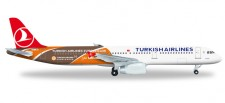 Herpa 526876 Airbus A321 Turkish Airlines Euroleague