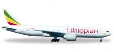 Herpa 528115 Boeing 777-200LR Ethiopian Airlines