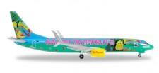Herpa 528191 Boeing 737-800 TUIfly Haribo Tropifrutti