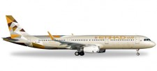 Herpa 528689 Airbus A321 Etihad Airways