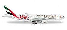 Herpa 529235 Boeing 777-200LR Emirates Arsenal London