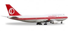 Herpa 529679 Boeing 747-400 Malaysia Airlines Retro