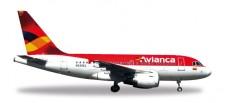Herpa 530088 Airbus A318 Avianca