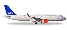 Herpa 531054 Airbus A320neo SAS Scandinavian
