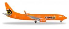 Herpa 531351 Boeing 737-800 Mango
