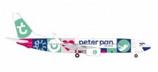 "Herpa 531450 Boeing 737-800 Transavia ""Peter Pan"""