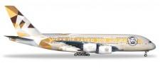 Herpa 531948 Airbus A380 Etihad Airways Year of Zaye