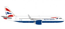 Herpa 532808 Airbus A320 neo British Airways