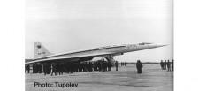 Herpa 533324 TU-144S Aeroflot Tupolev