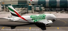 Herpa 533522 Airbus A380-800 Emirates Expo 2020