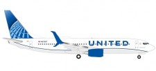 Herpa 533744 Boeing 737-800 United Airlines