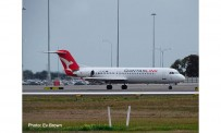 Herpa 534567 Fokker100 QantasLink