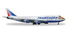 Herpa 557917 Boeing 747-400 Transaero 'Amur Tiger'