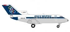 Herpa 558921 Yakovlev Yak-40 Olympic Airways