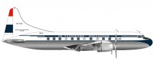 Herpa 559393 Convair CV-340 KLM