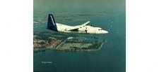 Herpa 559652 Fokker 50 KLM Cityhopper