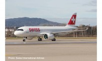 Herpa 570947 Airbus A320neo Swiss International
