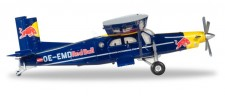 Herpa 580304 PC-6 The Flying Bulls Pilatus