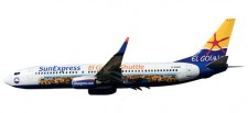 Herpa 611053 Boeing 737-800 Sun Express 'El Gouna'