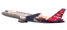 Herpa 611138 Airbus A319 CSA Czech Airlines Prague
