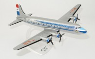 Herpa 612869 SnapFit: Douglas DC-4 KLM