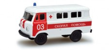 Herpa 743808 UAZ 452 Rotes Kreuz (RU)