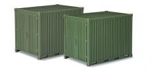 Herpa 744713 Zubehör 10ft Gerätecontainer 2 St.