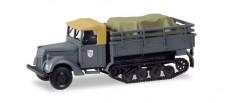 Herpa 746229 Ford 917 T Ersatz Maultier mit Ladung