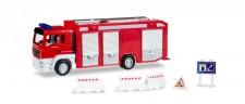 Herpa 800419 Herpa City: Feuerwehr MAN TGS m.Zubehör