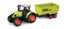 Herpa 84184015 Claas Arion 540 Traktor m.Kippanhänger