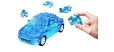 Puzzle Fun 3D 80657071 Mini Cooper blau klar