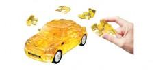 Puzzle Fun 3D 80657075 Mini Cooper gelb klar