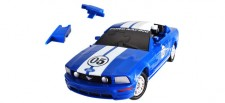 Puzzle Fun 3D 80657090 Ford Mustang blau