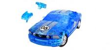 Puzzle Fun 3D 80657091 Ford Mustang blau klar