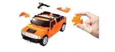 Puzzle Fun 3D 80657100 Hummer orange