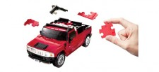 Puzzle Fun 3D 80657104 Hummer rot
