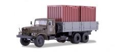 SSM (Vertrieb Herpa) 83SSM1149 Kraz 257 B1 mit Container