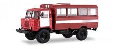SSM (Vertrieb Herpa) 83SSM1198 GAZ-66 Feuerwehr Bus