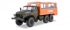 SSM (Vertrieb Herpa) 83SSM1223 URAL-4320 Bus-LKW