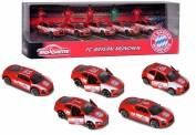 Schuco 212053173 5er Set: Fahrzeuge FC Bayern München