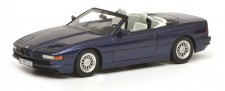 Schuco 450006900 BMW 850i Cabriolet blau