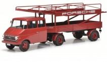 Schuco 450008400 Opel Blitz Renntransporter