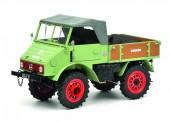 Schuco 450014700 MB Unimog 401 mit Wildschwein