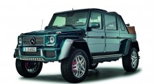 Schuco 450017700 Mercedes Maybach G650 blau
