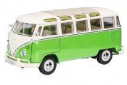 Schuco 450028600 VW T1/2b Samba grün/beige