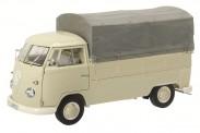 Schuco 450037000 VW T1/2b Pritsche/Pl. beige