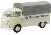 Schuco 450037200 VW T1/2b Pritschen-Wagen